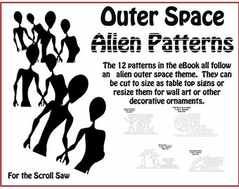 Scrollsaw Alien Patterns eBook