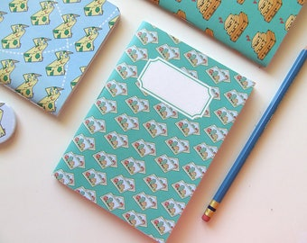 Travel Journal with Photos Pattern - Pocket Size - Blank Pages