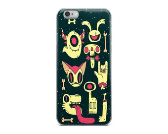 Zombie iPhone Case | Cool Phone Case | iPhone 8 Case | iPhone 7 Case | Funny Phone Case | Kids Phone Case