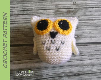 Owl plushie CROCHET PATTERN || Instant Download