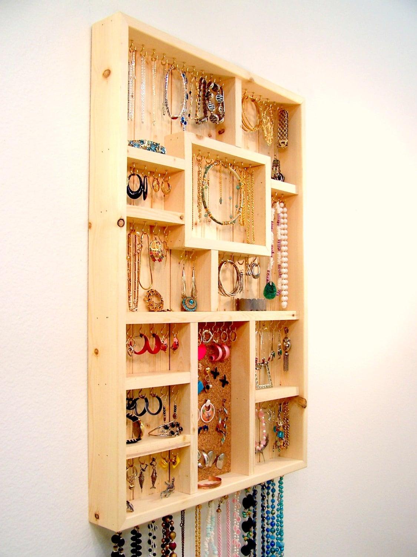 Do It Yourself Jewelry: Jewelry Organizer Large Do It Yourself Kit
