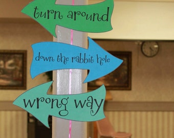 Alice in Wonderland Party Cutouts