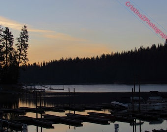 Sunrise at Bass Lake