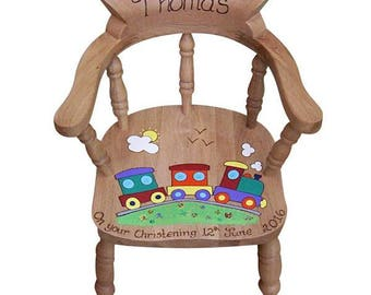 Personalised Child's Captains Chair for Boys