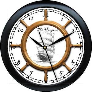 Personalized Nautical Wheel 10