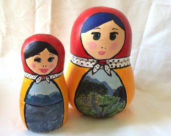 Ceramic Nesting Doll