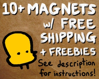 "10+ magnets with free shipping - see description for info on how to use. magnet set lot of 1.25"" round refrigerator magnets"