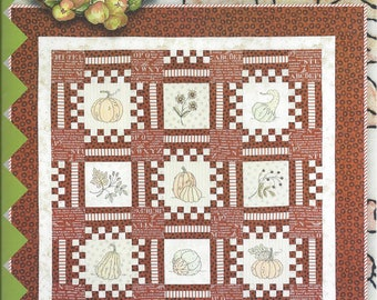 Harvest Hopscotch Quilt Pattern by Crabapple Hill