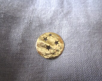 Gold Star sequin 15mm