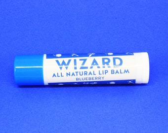 Wizard All Natural Lip Balm - Blueberry Flavour
