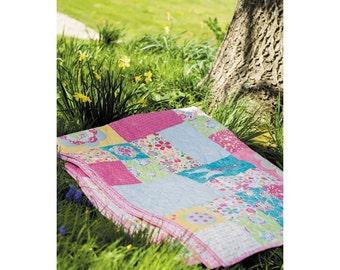 Flower Garden Quilt Pattern Download 803362