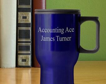 Personalized Travel Mug - Travel Tumbler - Personalized Tumbler -  GC899