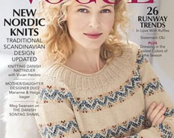 Vogue Knitting Holiday 2017