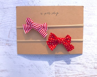 Hand-tied Christmas Bows