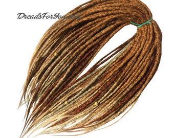 Amazon Crochet Synthetic Dreads x20 or Full Set Single or Double Ended Dreadlocks DreadsForYou