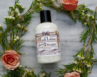 Lush Lotion- All Natural Lotion - Organic Lotion - Made with Essential Oils - Lotion with Essential Oils - Restless Legs - Gift