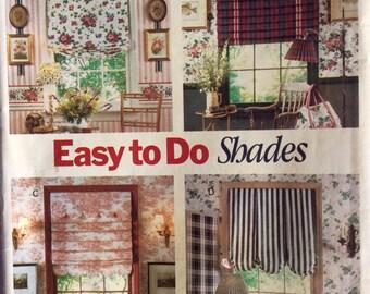 Butterick 6677, Window Shades Pattern, Window Treatments, Picture Hanger Pattern, Vintage Uncut Pattern
