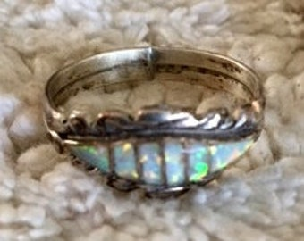 Ring Opal Silver