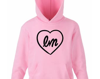 Little Mix LM heart hoodie ladies.
