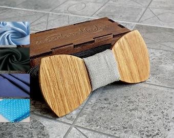 Wood Bow Tie Men For Kids Groomsmen Gift Valentines Gifts Wedding Mens Wooden Groom Boyfriend Fathers Day
