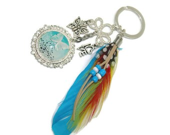 Fantasy Butterfly key ring