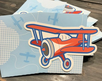 Airplane Party Favor Box