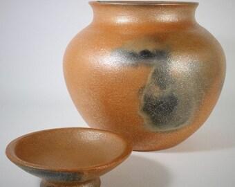 Bean Pot, 5.5 qt., Micaceous Clay, Clay Pot Cooking, Ceramic Pot