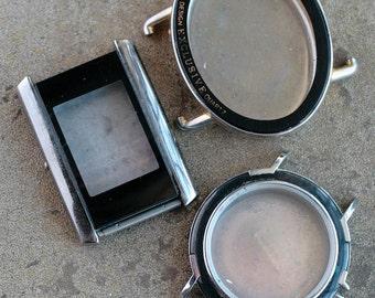 Wrist Watch Cases -- set of 3 -- D10