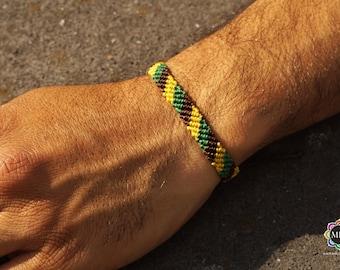 Macrame Tri-Color bracelet