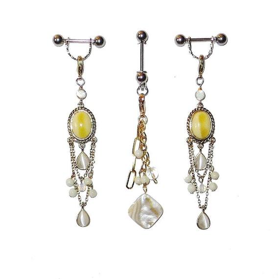 Pierced Nipple Jewelry & VCH Piercing Jewelry Or Nonpiercing