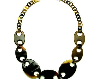 Horn Chain Necklace - Q13172