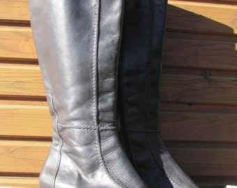 Womens Bottes Cuir Vintage Tamaris En Noir Bottes Sa76Zq