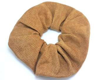 Hair Crunchie / Brown / One Size
