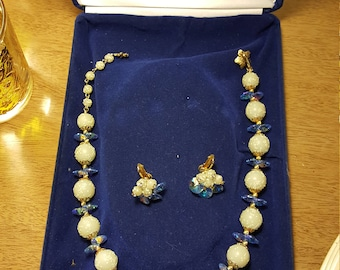 Vintage Vendome Necklace and Earring Set