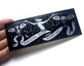 Cheating Death - 1 Sticker