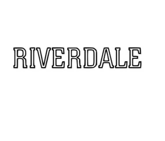 Riverdale High Inspired Archie Comics Black Vinyl Computer