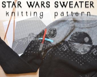 Star Wars Sweater Knitting Pattern