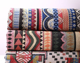 Ordinaire Bohemian Fabric, Ethnic Tribal Fabric, Upholstery Fabric, Thick And Heavy  Weight   1