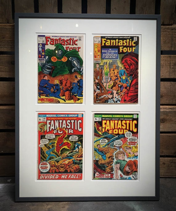 Set 4 Marvel Fantastic Four Comics