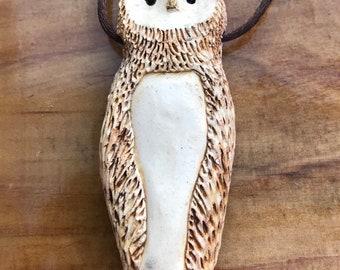 Great Horned Owl Pendant