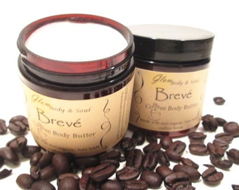 Breve Coffee Butter Body Butter Paraben Free Body Butter