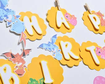 Dragon Banner, Dragon Party Decorations, Dragon Banner Baby Shower, Dragon Birthday Party, Custom Party Banners, Dragon Party Supplies