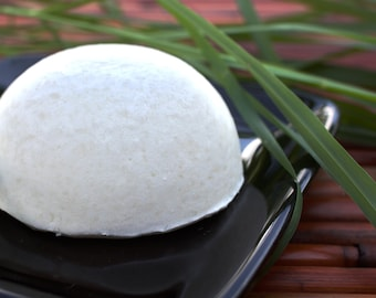 Grapefruit Lemongrass Solid Shampoo Bar with Essential Oils