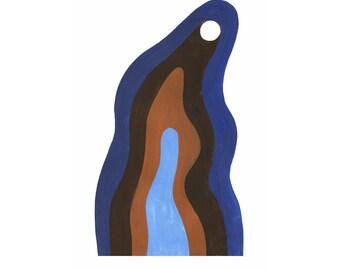 TIDE POOLS - minimal art print