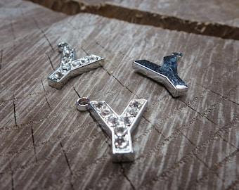 Letter Y Pendant Charms ~1 pieces #100610