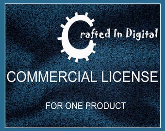 Commercial License for use with one product.
