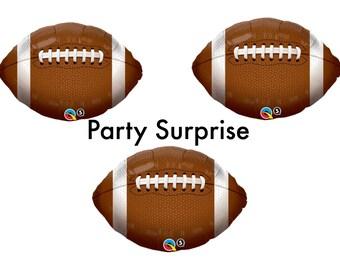 Football balloons, Football Party Decorations, Football Game, Sports Party Balloons, Superbowl Party Balloons, Kids Party Balloons