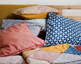 Pillowcases / Kid bedding / Kids room decor / Toddler bedding set / Hand dyed bedding