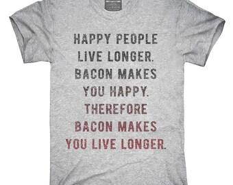 Bacon Logic T-Shirt, Hoodie, Tank Top, Gifts