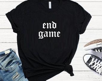 Taylor Swift shirt, Taylor Swift tank, Reputation tour, End Game shirt, Reputation Tour, Taylor Swift lyrics, TS shirt, Swiftie shirt,